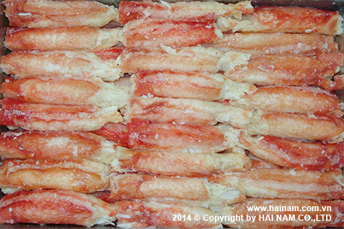 King crab meat<br />Latin name: Paralithodes camtschaticus<br />